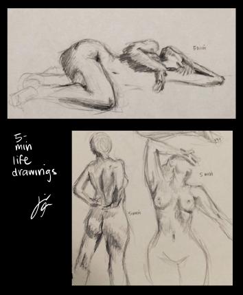 5 Minute Life Drawings